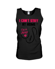 I Cant Stay Home I am a Nurse T-Shirt Unisex Tank tile