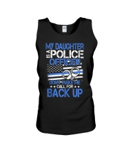Police Officer's Dad - Police Officer's Mo Unisex Tank thumbnail