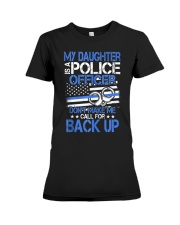 Police Officer's Dad - Police Officer's Mo Premium Fit Ladies Tee thumbnail