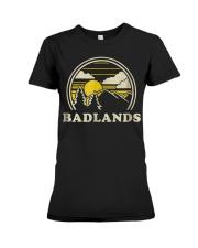 Badlands South Dakota SD T Shirt Vint Premium Fit Ladies Tee thumbnail