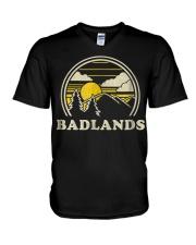 Badlands South Dakota SD T Shirt Vint V-Neck T-Shirt thumbnail