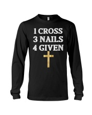 Jesus Easter shirt Religious Christian T-s Long Sleeve Tee thumbnail