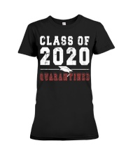 Class of 2020 Quarantine Funny Graduation P Premium Fit Ladies Tee tile