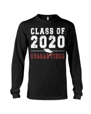 Class of 2020 Quarantine Funny Graduation P Long Sleeve Tee thumbnail