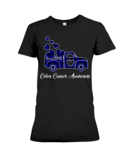 Cute Colon Cancer Awareness Month Costume T Premium Fit Ladies Tee thumbnail