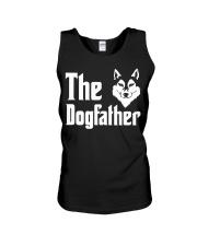 Siberian Husky Tshirt Dogfather Fathers Day  Unisex Tank thumbnail
