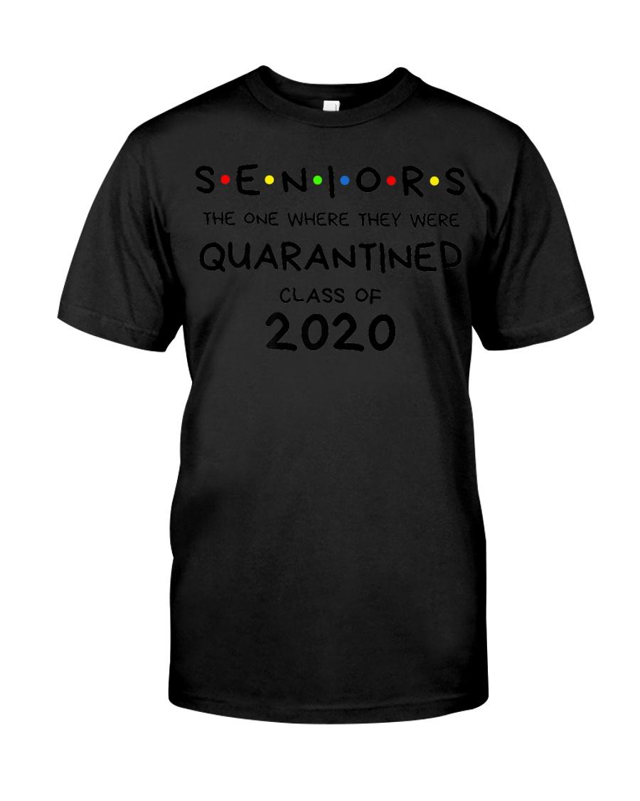 Seniors Quarantined Class of 2020 Premium  Classic T-Shirt