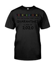Seniors Quarantined Class of 2020 Premium  Classic T-Shirt front