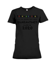Seniors Quarantined Class of 2020 Premium  Premium Fit Ladies Tee thumbnail