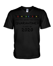 Seniors Quarantined Class of 2020 Premium  V-Neck T-Shirt thumbnail