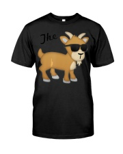 The GOAT Emoji T Classic T-Shirt front