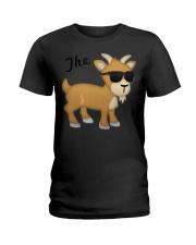The GOAT Emoji T Ladies T-Shirt thumbnail