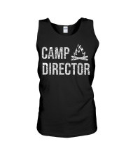 Camp Director Shirt - Camping Camper Desi Unisex Tank thumbnail