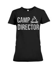 Camp Director Shirt - Camping Camper Desi Premium Fit Ladies Tee thumbnail