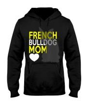 French Bulldog Mom Shirt Hooded Sweatshirt thumbnail