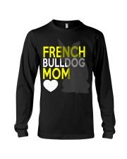 French Bulldog Mom Shirt Long Sleeve Tee thumbnail