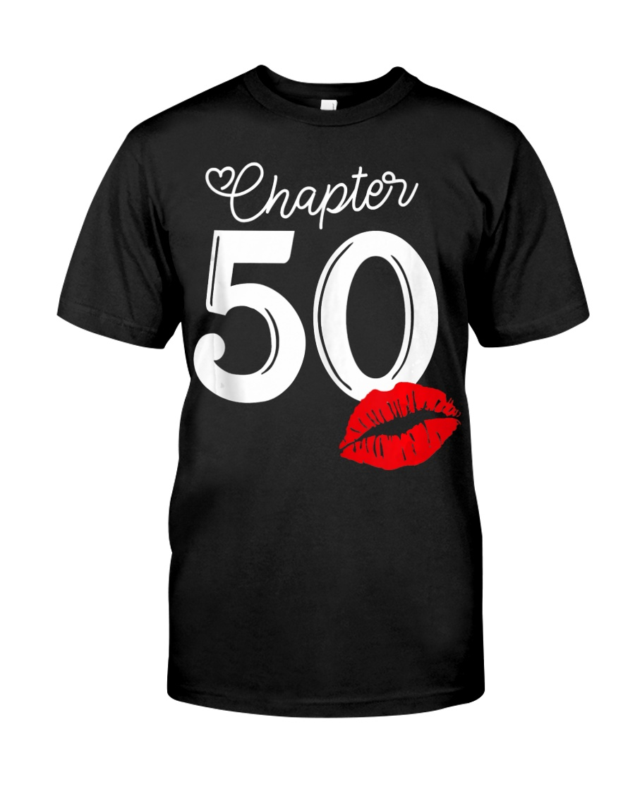 Womens Chapter 50 Years 1970 50th Happy Bi Classic T-Shirt