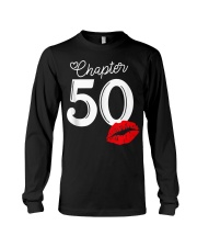 Womens Chapter 50 Years 1970 50th Happy Bi Long Sleeve Tee thumbnail