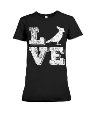 Cockatiel Parrot Love Cute Bir Premium Fit Ladies Tee thumbnail