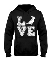 Cockatiel Parrot Love Cute Bir Hooded Sweatshirt thumbnail