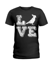 Cockatiel Parrot Love Cute Bir Ladies T-Shirt thumbnail