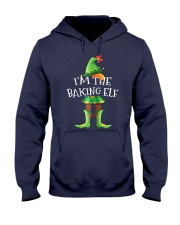 I'm The Baking Elf Matching Family Hooded Sweatshirt front