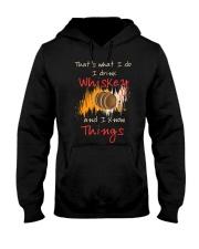 Humorous Alcohol T-shirt I Drink Whisk Hooded Sweatshirt thumbnail