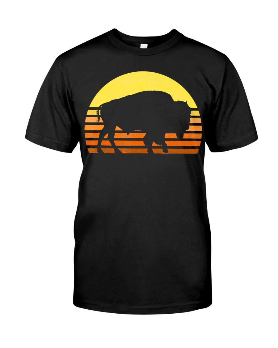 Native American Bison Buffa Classic T-Shirt