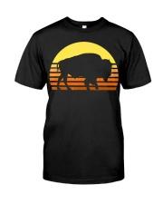 Native American Bison Buffa Classic T-Shirt front