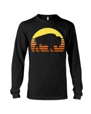 Native American Bison Buffa Long Sleeve Tee thumbnail