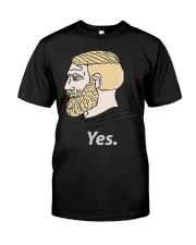 Chad Yes Meme Internet Funny Nordic Alpha Ki Premium Fit Mens Tee thumbnail