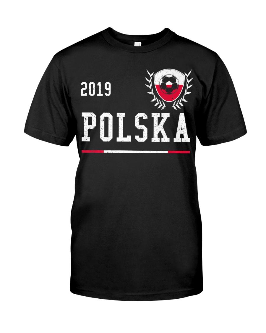 Poland Football Jersey 2019 Polish Soccer  Classic T-Shirt