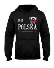 Poland Football Jersey 2019 Polish Soccer  Hooded Sweatshirt thumbnail
