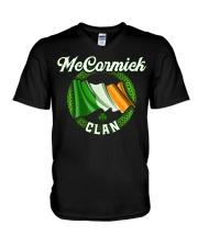 McCormick Surname Irish Last Name Irelan V-Neck T-Shirt thumbnail