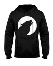 Husky moon T Hooded Sweatshirt thumbnail