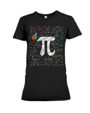 Pi Day Math Equation T-Shirt Math Teacher Stu Premium Fit Ladies Tee thumbnail