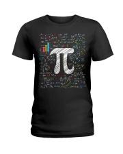 Pi Day Math Equation T-Shirt Math Teacher Stu Ladies T-Shirt thumbnail
