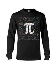 Pi Day Math Equation T-Shirt Math Teacher Stu Long Sleeve Tee thumbnail
