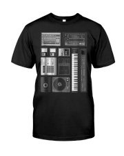 Old School Hip Hop Rap Music Bea Premium Fit Mens Tee thumbnail
