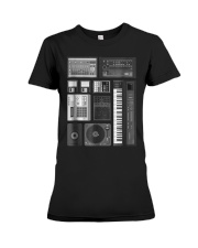 Old School Hip Hop Rap Music Bea Premium Fit Ladies Tee thumbnail