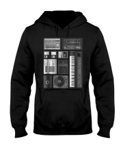 Old School Hip Hop Rap Music Bea Hooded Sweatshirt thumbnail