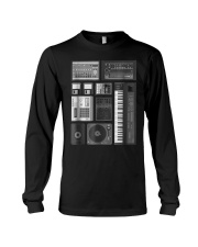 Old School Hip Hop Rap Music Bea Long Sleeve Tee thumbnail