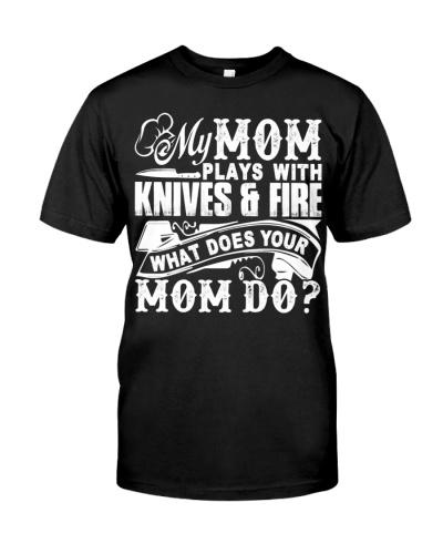 Chef Sweatshirt - Chef Mom Hooded Sweatshirt