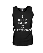 Keep calm I'm an electrician T-Shirt 1 Unisex Tank thumbnail