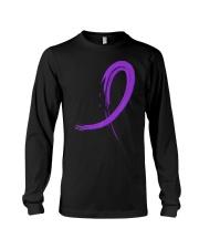 Chiari Malformation T-Shirt Purple Gr Long Sleeve Tee thumbnail