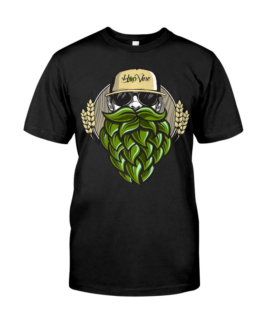 Hop Beard F Classic T-Shirt