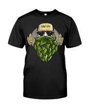 Hop Beard F Classic T-Shirt thumbnail