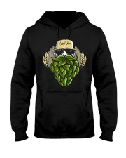 Hop Beard F Hooded Sweatshirt thumbnail