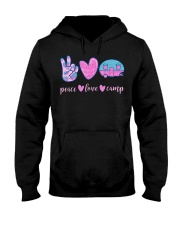 Peace Love Camp Cute Camping Lover Gifts For  Hooded Sweatshirt thumbnail