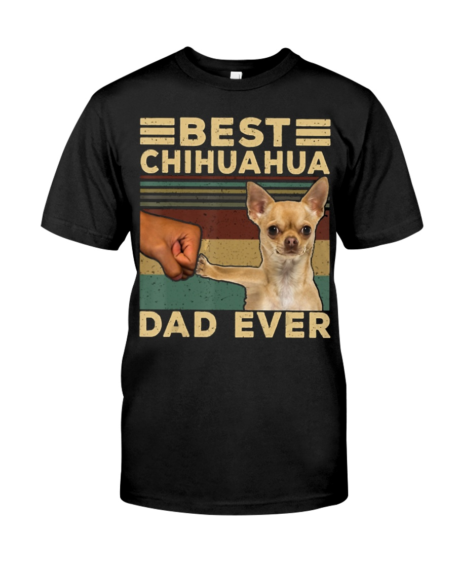 Best Chihuahua vintage dad ever T-Shirt Classic T-Shirt